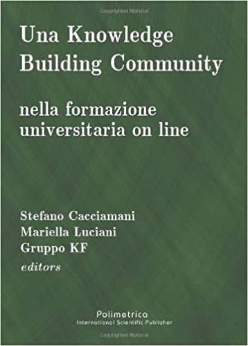 Una Knowledge Building Community Nella Formazione Universitaria On Line Italian Edition Cacciamani Stefano Luciani Mariella Gruppo Kf 9788876990793 Amazon Com Books