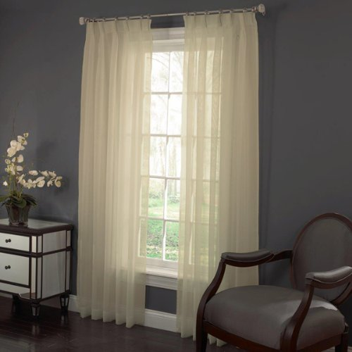 Panels Pinch Voile Pleated - LORRAINE HOME FASHIONS 48