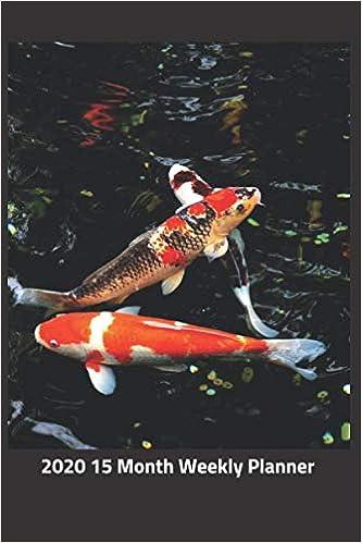 Fishing Calendar January 2020 Amazon.com: Plan On It 2020 Weekly Calendar Planner   Koi Fish