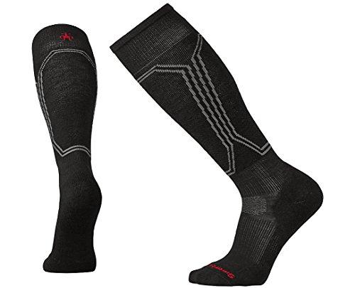 (SmartWool PhD Slopestyle Light Socks (Black) Medium)