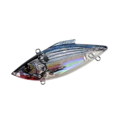 Rat-L-Trap Lures 3/4-Ounce Mag Trap (Lectric Silver) - Mag Trap
