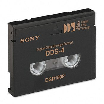 Sony® 1/8 inch Tape DDS Data Cartridge CART,4MM,DGD150P,DDS4 (Pack of10)