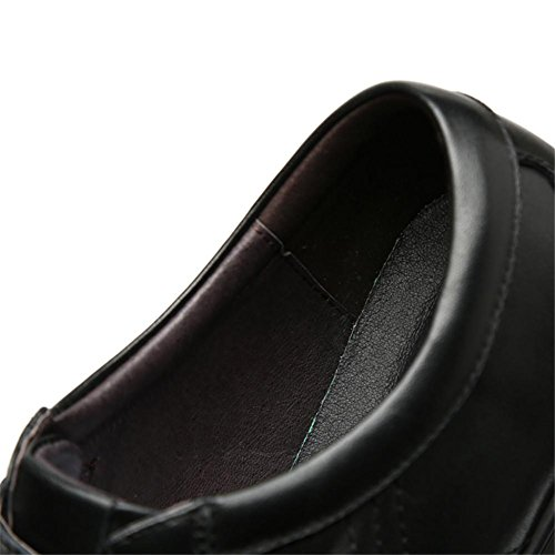Winter Herbst Echtleder Freizeitschuhe klassische Persönlichkeit Outdoor Schuhe für Herren black