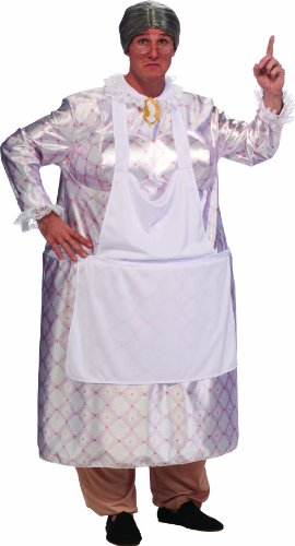 Halloween Costume Breasts (Rubie's Costume Lots Of Love Big Momma Costume, White, Standard)