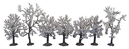 Walthers SceneMaster Snow Trees (7 per Train)