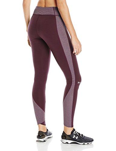 Under Armour pantalones de Fitness para y pantalones cortos CG Stripe Inset mallas Rojo - rojo
