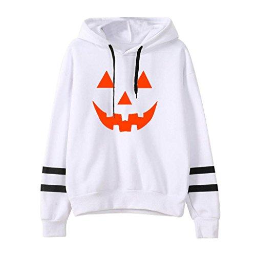 Hot Sale!Women's Hoodies Neartime Women Halloween Long Sleeve Hoodie Sweatshirt Jumper Pullover Tops Blouse (M, (Halloween Express Sale After Halloween)