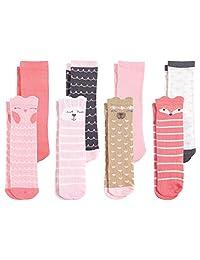 Hudson - Calcetines altos para bebé (8 unidades)