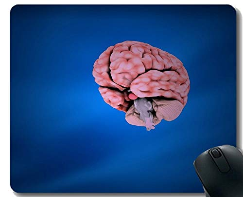 - Yanteng Customized Rectangle Non-Slip Rubber Mousepad, Neurology Intelligence Organ Intelligence Inspirational Quote Mouse Pad