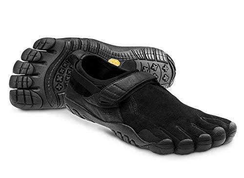 Vibram Five Fingers Men's KSO Trek Black Minimalist Trail Running Shoe (11-11.5)