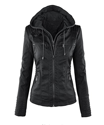 Leather Motorcycle Jackets For Women - 1