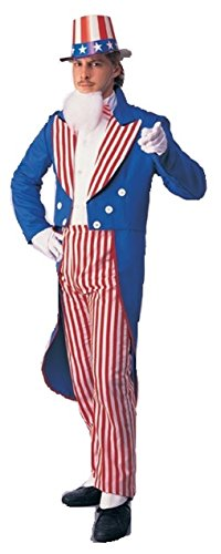 Uncle Sam Adult Costume - Small -