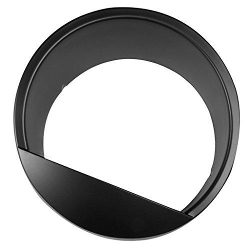 DIYTuning-ABS-HeadLight-Bezels-For-Jeep-Wrangler-Rubicon-Sahara-JK-07-17