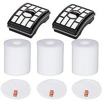 HIFROM Replacement HEPA Filter and Foam & Felt Filter kit for Shark Rotator Pro Lift-Away NV500 NV501 NV505 NV552 UV560 Replace XHF500 XFF500,Filter Foam and Felt Filter Kit
