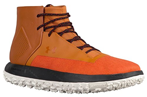 Under Armour Mens UA Fat Tire Onda Sneaker Boots (10.5 D(M) US, Texas Orange/Stone-Black)