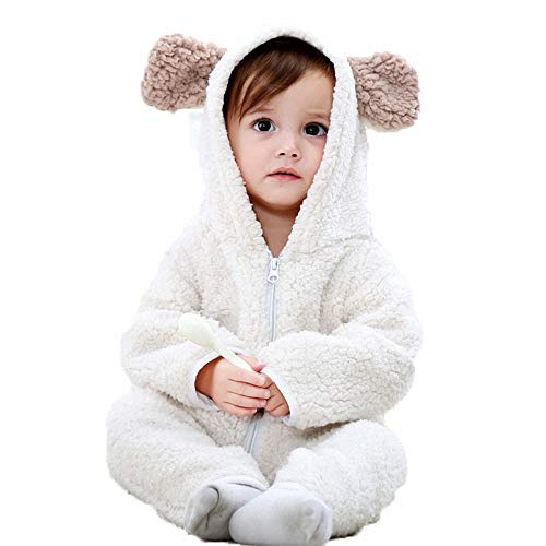 Halloween Costumes for Baby Boys Girls,Baby Bear Polar Fleece Onesie Pajamas Romper Jumpsuit Outfits Kids -