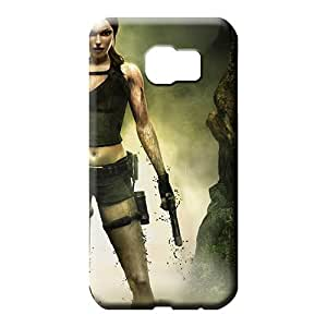 samsung galaxy s6 edge Shock Absorbing PC High Grade Cases phone carrying cases Tomb Raider Games
