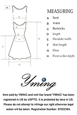 YMING Women's Simple Basic Sleeveless Solid Vest Tank Long Maxi Dresses