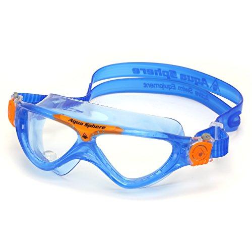 Aqua Sphere Vista Junior Swim Goggle, Made In Italy