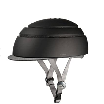 Amazon.com : Closca Fuga Foldable Bicycle Helmet Black S-52.5~54.5cm For Kids : Sports & Outdoors