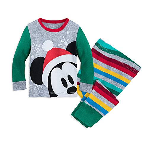 Disney Santa Mickey Mouse PJ PALS Set for Baby Size for sale  Delivered anywhere in USA
