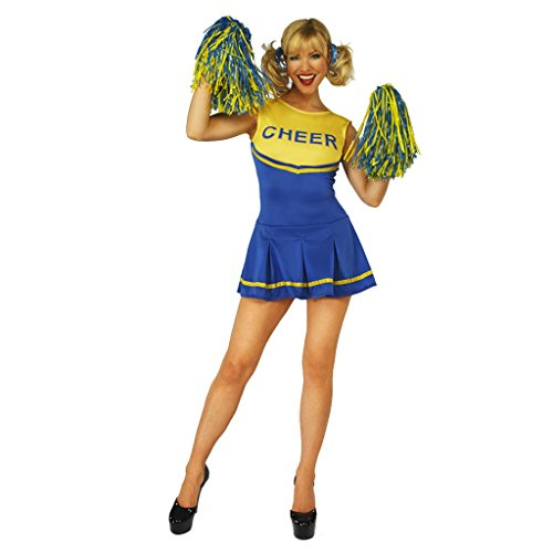 Heroes Cheerleader Costume Halloween (Cheerleader Womens Fancy Dress Costume Halloween Valentines)