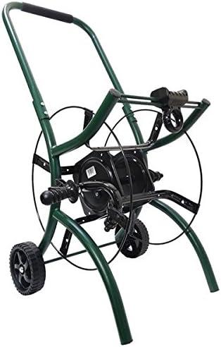 Enrollable devanadera sobre ruedas Nu para manguera D jardín 70 m: Amazon.es: Jardín