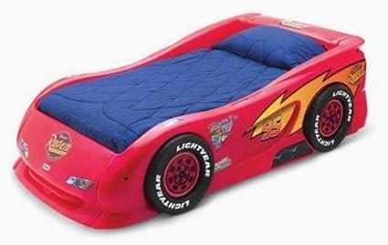Lightning Mcqueen Little Tikes Bed.Amazon Com Little Tikes Lightning Mcqueen Race Car Twin Bed