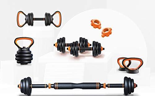 Eazylyfe Adjustable Dumbbells-Barbell Weight Set of 2