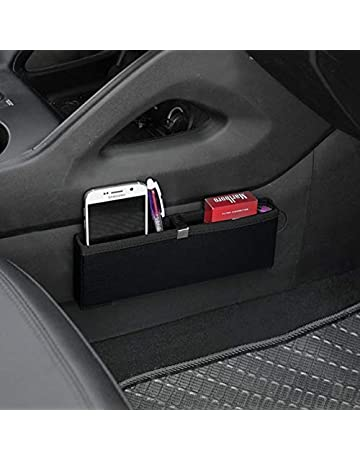 Car Electronics Accessories Car-Styling Vehicle Trash Container Door Armrest Box Air Outlet Mount Interior Accessories Car Phone Stand Drink Holder Brown Car Electronics & Accessories
