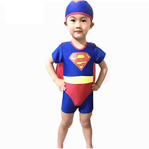 9c8960fd1e Colorfulworldstore Superman Boys Swimwear -Child UV Beachwear-One Piece  Swimsuit