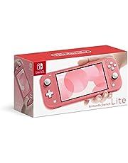 Nintendo Switch Lite Coral - Versão Nacional