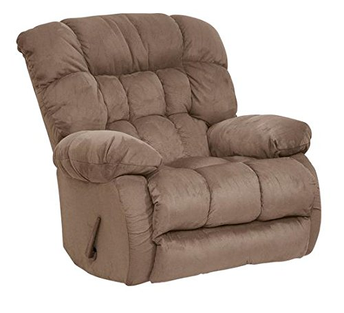 Cheap Catnapper 4517-2-2220-29 (Saddle) Teddy Bear Chaise Rocker Recliner. Free Curbside Delivery.