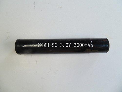 EXTENDEDLIFE Extended 3.6V 3000mAh NIMH Battery Stick for Streamlight Stinger LED HP, XT, 75175, PolyStinger, Pelican M9 ()