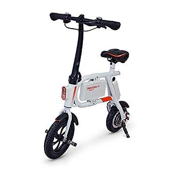 InMotion e bicicleta p1 F 350 W blanco vehículos eléctricos