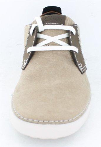 Clarks Neelix Vibe 203587007 - Zapatillas para hombre, color beige, talla 39.5 amarillo