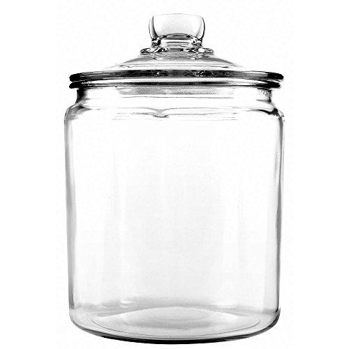 Anchor Hocking 85545R Half-Gallon Heritage Hill Glass Jar
