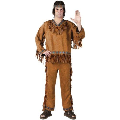 Fun World Men's Native American Adlt Cstm, multi -
