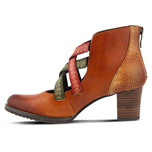 L`Artiste Womens Daniella Boot Camel Multi SeaJ4T48