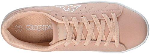 Basses Meseta white rosé 2110 Rouge Sneakers Femme Kappa qACwwR