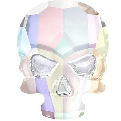 2856 Swarovski Flatback Crystals Non Hotfix Skull