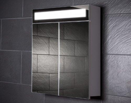 Galdem EVEN60 Spiegelschrank, holz, 60 x 65 x 15 cm, weiß