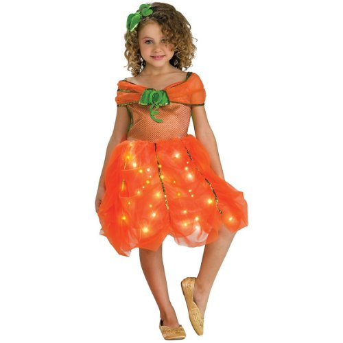 Child's Twinkle Pumpkin Princess Costume, Small ()