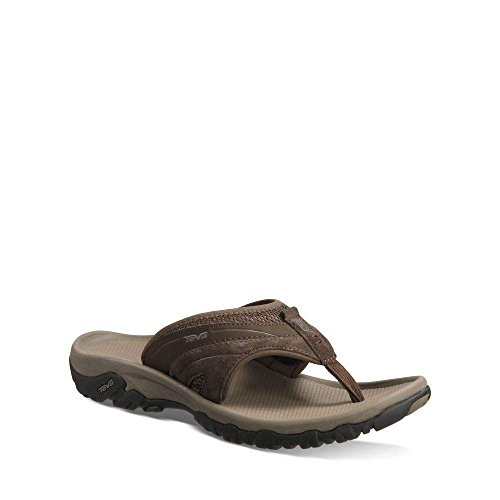 Pictures of Teva Men's Pajaro Flip-Flop Brown D(M) Mens 6