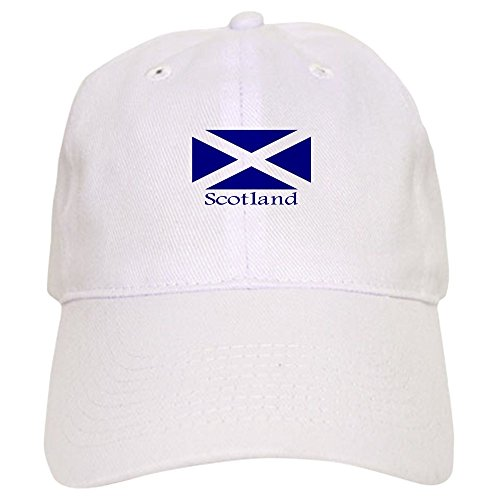 - CafePress - Scotland - Baseball Cap Adjustable Closure, Unique Printed Baseball Hat
