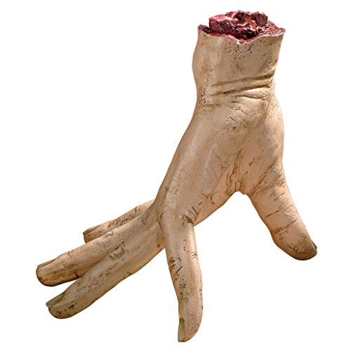 Design Toscano A Helping Hand Zombie Appendage - Zombie Statue - Halloween Prop -