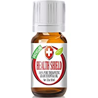 Best Health Shield (Compare to Thieves Oil by Young Living, Four Thieves by Eden's Garden) 100% Pure, Therapeutic Grade Essential Oil Blend - 10ml