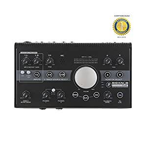 Mackie Big Knob Studio Monitor Controller and Interface with 1 Year EverythingMusic Extended Warranty Free by Mackie