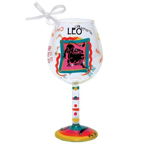 Santa Barbara Design Studio Lolita Holiday Mini-Wine Ornament, Leo -