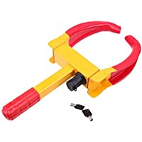 Car Wheel Locks, POSSBAY Anti-theft Security Wheel Tire Tyre Trailer Clamp Parking Lock Kit